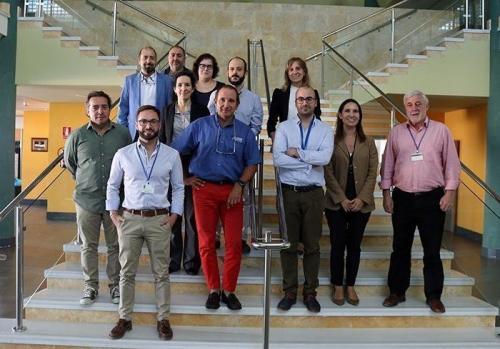 Participants à la réunion de lancement du projet COMPOLIVE