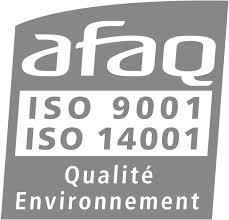 logo afaq certification 9001 and 14001