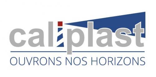 Nouveau logo Caliplast : OUVRONS NOS HORIZONS