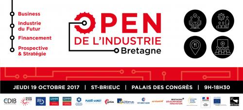 Open Industrie Bretagne 19 octobre 2017